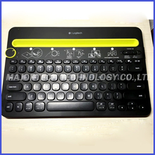 100% Original Logitech K480 portable wireless keyboard Bluetooth Multi-Device Keyboard for Computers/Tablets/Smartphones