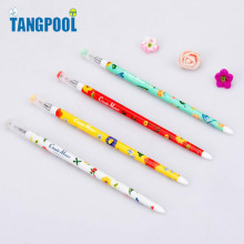 12 pcs/lot Floral Pattern 0.38mm Black Ink Gel Pen Claude Monet Drawing Design Sign Pen Stationery Office School Supplies