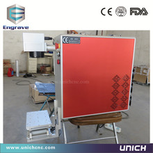 High speed Factory supply  30w laser marking machine for metal