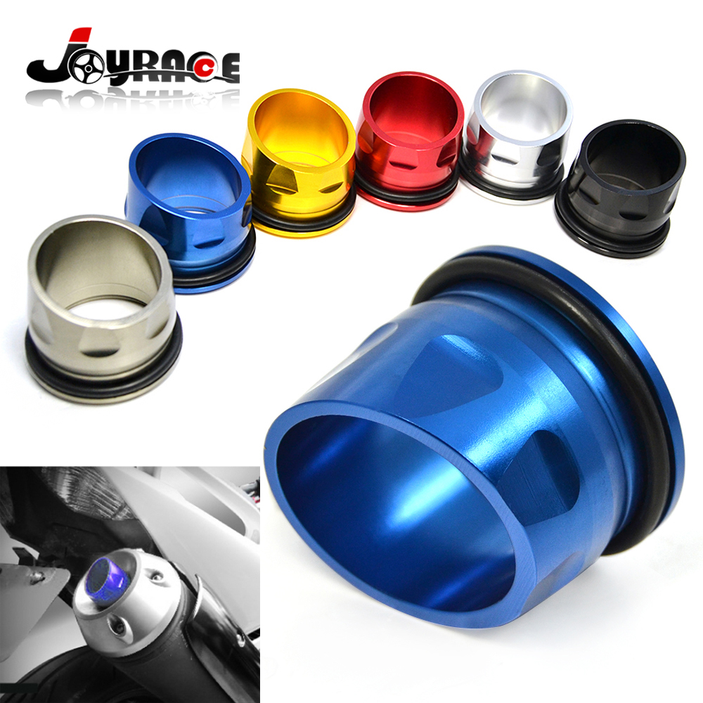 T MAX Custom CNC Aluminum Motorcycle Exhaust Tip Cover for Yamaha TMAX 530 2012-2015<br><br>Aliexpress