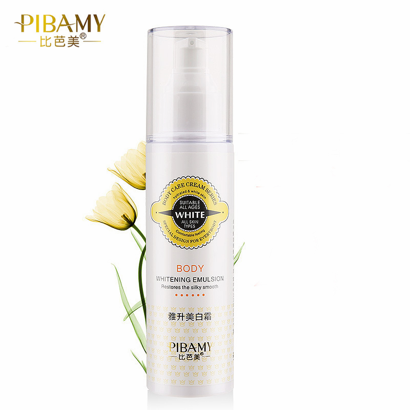 PIBAMY Instantly Whole Body Whitening Cream Moisturizer Skin Whitening Body Lotion Bleaching Cream for Neck Knee Dark Skin 150ML 19