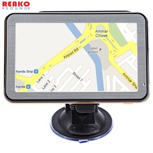5 inch Car GPS Navigation TFT LCD Windows CE 6.0 Touch Screen 128M FM Radio Voice Guidance Multifunction Navigator Map(China)