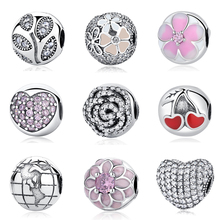 Buy Authentic 100% S925 Sterling Silver Bead Charm Daisy Clip Safety Stopper Beads Fit Pandora Bracelets & Bangles Necklace for $3.44 in AliExpress store