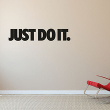 "D346  ""Just Do It"" Decal Vinyl Decor Sticker Wall Art Decal stickers for living room study room office Modern Home Decor"