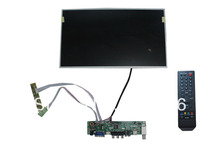 VGA+HDMI+AV+Audio LCD TV  board  driver 15.6 inch LCD panel+LVDS cable +Remote control and receiver +OSD keypad with cable