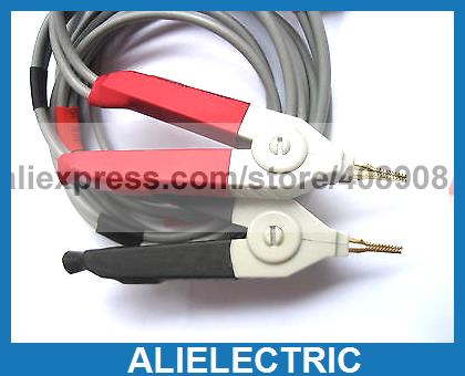 Kelvin Clip for LCR Meter with 4 BNC Test Wires Oscilloscope Probes 1 Set<br><br>Aliexpress