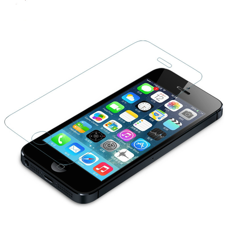 Free-Shipping-For-iPhone-5s-glass-0-26-mm-on-the-tempered-glass-screen-protection-film