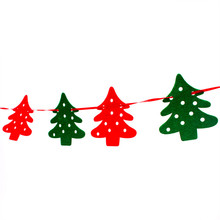 2.2M 8pcs Christmas Pendant & Drop Ornaments XMAS Tree Elk Home Market Mall Christmas Decorations Party Banner Decor