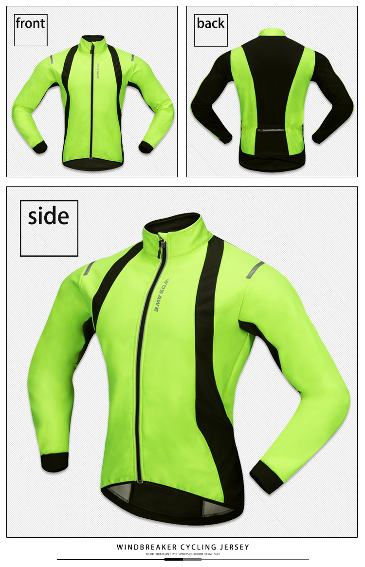 Cycling Jacket Sports Long Sleeved Clothing Riding Windbreaker Cycling Suit