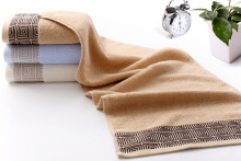 Hot sale confortable towel set cotton Toallas Face towel set for adults large size 34*75cm 3pcs/set