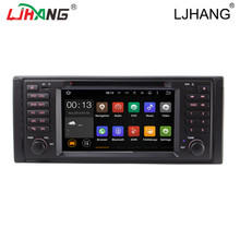 Dual core car radio Stereo GPS Multimedia DVD Player For BMW E53 X5 E39 M5 Steering Wheel Control Bluetooth 2 din Mirror Link FM