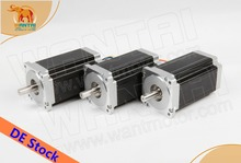 Ship From Germany! Wantai 3PCS Nema34 Stepper Motor WT86STH118-6004A 1232oz-in 5.6A 118mm 4-Lead CNC Router Laser Plastic