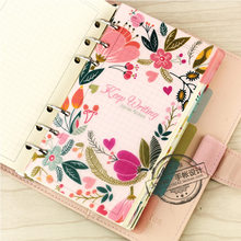 Jamie Planner Original A7 A6 A5 PP Material Separator Pages 6 loose Leaf Notebook Separator Pages(China)