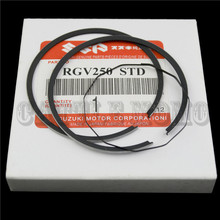 Motorcycle Piston Rings Set For RGV125 RGV250 RGV 125 250 (STD) Standard Bore Size 56mm NEW For 2 Cylinders