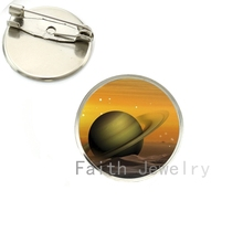 Wholesale alaxy Planet pture brooch pins Universe Space brooches Earth Jupiter Mercury Venus Mars Saturn Uranus Neptune NS277