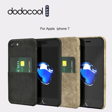 dodocool case for 4.7-inch iPhone 7 PU Leather Phone Wallet Cases Protective Luxury cover Shell cases with Credit Card Holder(China)
