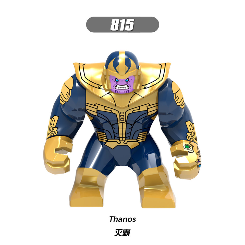Legolingly Super Heroes Thanos Black Dwarf Figure Set Thanos Infinity Glove Building Blocks Marvel Blocks Set Toys for Children (9)