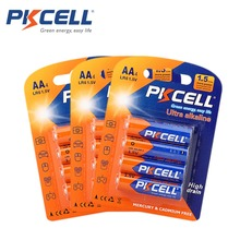 12Pcs/3Blister AA Battery 1.5Volts LR6 Alkaline Dry Batteries 2A Single Use Battery(China)