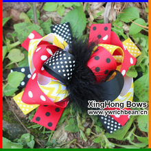 new boutique large kids decorations for hair of grosgrain ribbon bows with clips for girls hairbows hairpins accessories