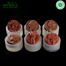 New Arrivals Flexible Easy Unmold Silicone Molds, Forest Series Silicone Soap Molds,DIY Silicone Naturals Molds