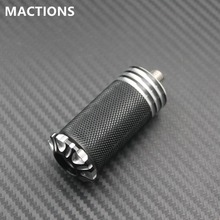Motorcycle Accessories CNC Billet Aluminum Edge Cut Traction Gear Shift Peg For Harley Dyna Sportster Softail Touring