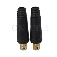 CNBTR 2 Pcs Durable Fitting Cable Connector Plug DKJ10-25 Welding Machine Connection(China)
