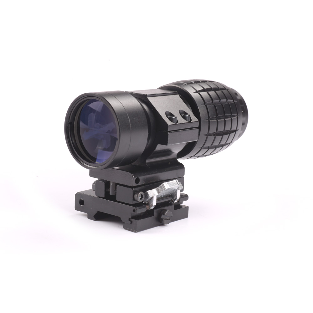 3X Magnifier Scope Quick Release for Sniper Hunting Rifle W/Picatinny 20mm  Rail Flip to Side Mount Hunting Caza<br>