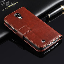 S4 case Brand New Original cell Phone case Flip Wallet  Leather Case Cover For Samsung Galaxy S4 I950 I9500 Free Shipping