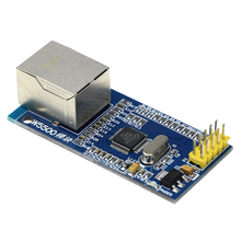 Free Shipping W5500 Ethernet Network Module Hardware TCP / IP 51 / STM32 Microcontroller Program Over W5100