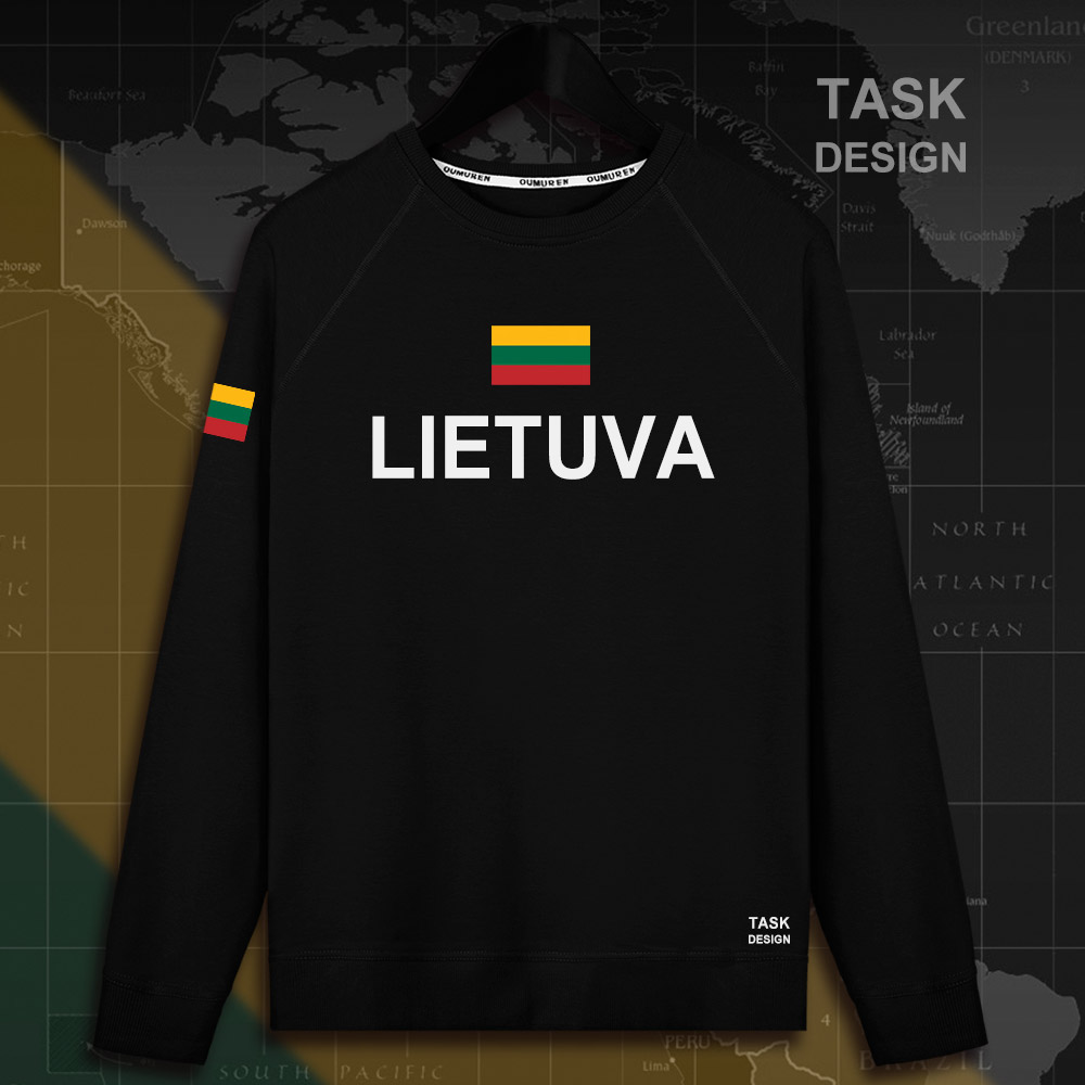 Lithuania Lithuanian LTU Lietuva Lietuvos men hoodie pullovers hoodies men sweatshirt new streetwear clothing Sportswear tracks 2