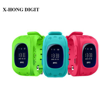 Smart Phone Watch Kid Wristwatch Children Anti Lost GPS Tracker Watch For Kids SOS GSM Mobile Phone Smartwatch For IOS Android(China)