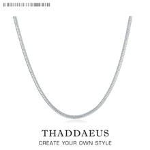 2mm Snake Chain Necklace,2017 Brand New Ts Glam Fashion Jewelry Thomas Style Soul 925 Sterling Silver Bijoux Gift For Men Women