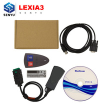 2017 Lexia3 PP2000 921815C Chip Diagbox V7.83 Lite Version OBD OBD2 Diagnostic Tool Lexia 3 PP2000 For Citroen/Peugeot Scanner(China)