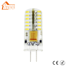 5 Pcs G4 LED Light DC 12V 3W 5W 6W LED Light SMD 3014 Silicone Corn Lamps Crystal Chandelier Lights Home Decoration Lighting