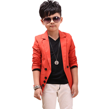 VORO BEVE 2017 new children jackets spring casual suits boys jacket long sleeve blazers kids coat outerwear