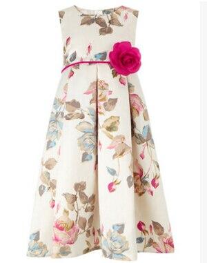 New children princess dress girls flower dress kids party dress children holiday dress for 4~16 years kids<br><br>Aliexpress