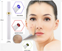 3 Colors LED Soft Laser Acne Pen Wrinkle Removal Light Treatment Skin Face Diamond PeelingTool plasma pen