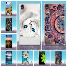 Buy Capa Sony Xperia M4 Aqua Case 3D Painting Coque Sony M4 Aqua Cover Soft TPU Silicone Fundas M4 Aqua 5.0'' Phone Cases for $1.51 in AliExpress store