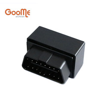 OBD GPS Tracker Mini Auto OBD Car GSM Vehicle Tracking Device Small Plug Play GPS Locator GOOME GM07W(China)