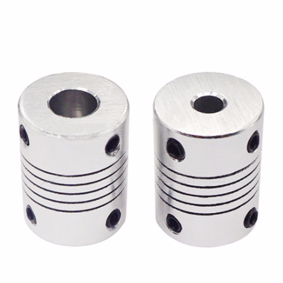 Aluminum Alloy Flexible Shaft Coupling Screw Driving CNC Stepper Motor Coupler Connector DIY 3D Printer Accessories Mayitr