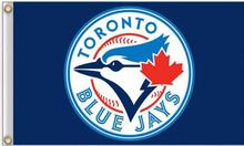 MLB Toronto Blue Jays Flag 3X5FT Flag Hot Sale Products 90x150 cm Sports Outdoor Flag Brass Metal Custom Flag Holes, Free Shippi