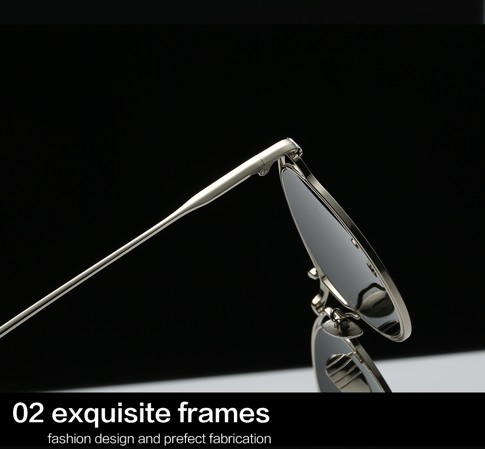 GYsnail Women's round metal Sun glasses Mirror Lens Luxury Ladies Designer Sunglasses Cat Eye Eyewear For Women Female Free Box