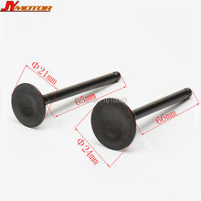 Motorcycle lifan engine parts 110cc Bike Horizontal Engine Intake Valve and Exhaust Valve Parts