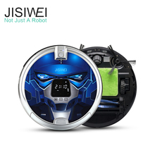 JISIWEI S+ Robot Vacuum Cleaner App Wifi Remote Control House Carpet Floor Cleaner Self Charge Robot Aspirador Mop(China)