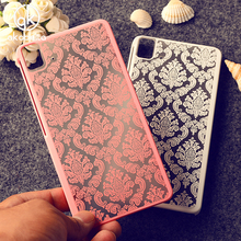 Rubberized Painted Henna Floral Retro Phone Cases For BQ Aquaris E5\M4.5\M5\X5 Plastic Durable Shell Accessories Housing