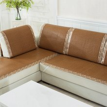 High Quality Sofa Cover Plaid Sofa Slipcover Summer Cooling Couch Cover Rattan Chair Seat Cover Dustproof Sofa Slipcovers