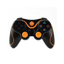 Orange plus Black Wireless Bluetooth Sixaxis Controller for Sony PS3 Console Game
