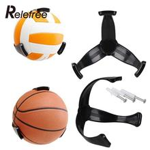 Relefree Plastic Ball Claw Wall Mount Basketball Holder Stand Support for Football Soccer Storage Holder(China)