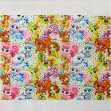 41827  50*147cm DIY handmade materials, flowers series high quality printed polyester ribbon, wedding gift wrap
