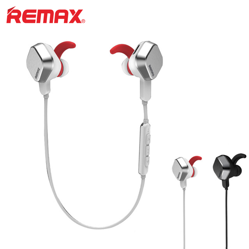 REMAX RM-S2 Sports wireless Bluetooth4.1 Earphone Magnet In-ear headset MIC Outdoor Running Gym Stereo earpods for xiaomi huawei<br>